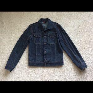 Woman's Diesel blue jeans jacket.